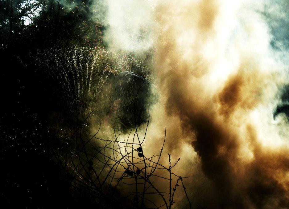 fire from steam by Eleanor Leonne Bennett