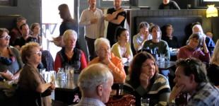 Crowd at birdlife book launch