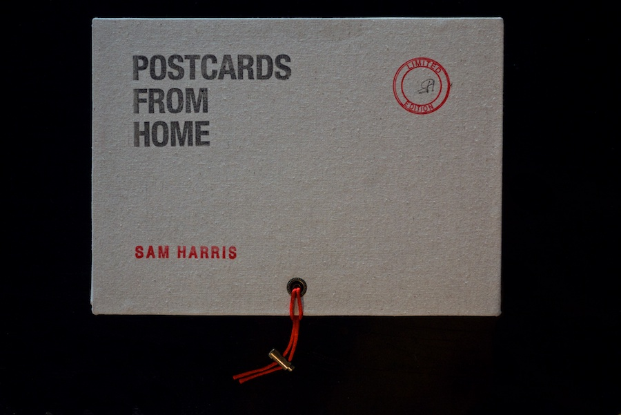 Sam Harris - Postcards from Home - Handmade LTD Edition of 208