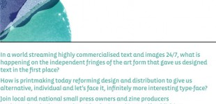 Printmaking and Independent Publishing