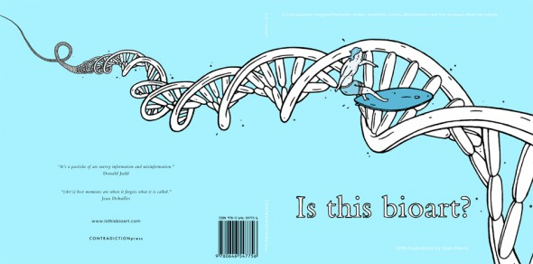 Is this bioart? Cover by Contradiction Press and Sean Morris