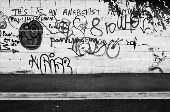 Cardiff graffiti, Wales by James Kerr