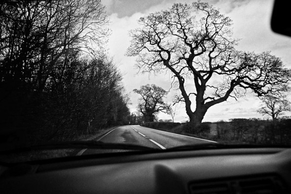 Driving to Grantham UK by James Kerr